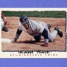 1995 Topps Baseball #008 Shane Mack - Minnesota Twins