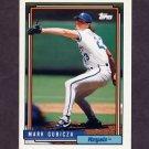 1992 Topps Baseball #741 Mark Gubicza - Kansas City Royals