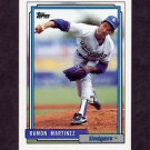 1992 Topps Baseball #730 Ramon Martinez - Los Angeles Dodgers