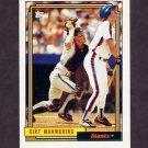 1992 Topps Baseball #726 Kirt Manwaring - San Francisco Giants