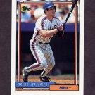 1992 Topps Baseball #707 Gregg Jefferies - New York Mets