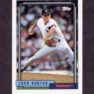 1992 Topps Baseball #698 John Habyan - New York Yankees