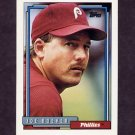 1992 Topps Baseball #696 Joe Boever - Philadelphia Phillies