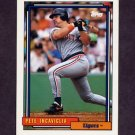 1992 Topps Baseball #679 Pete Incaviglia - Detroit Tigers