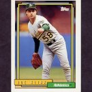 1992 Topps Baseball #678 Joe Klink - Oakland A's