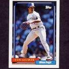 1992 Topps Baseball #662 Juan Guzman - Toronto Blue Jays