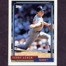 1992 Topps Baseball #644 Terry Leach - Minnesota Twins