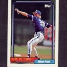 1992 Topps Baseball #607 Todd Stottlemyre - Toronto Blue Jays
