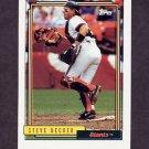 1992 Topps Baseball #593 Steve Decker - San Francisco Giants