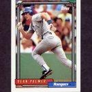 1992 Topps Baseball #567 Dean Palmer - Texas Rangers