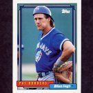 1992 Topps Baseball #563 Pat Borders - Toronto Blue Jays