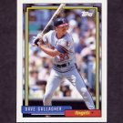 1992 Topps Baseball #552 Dave Gallagher - California Angels