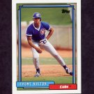 1992 Topps Baseball #543 Jerome Walton - Chicago Cubs