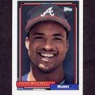 1992 Topps Baseball #542 Keith Mitchell - Atlanta Braves