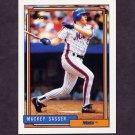 1992 Topps Baseball #533 Mackey Sasser - New York Mets