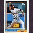 1992 Topps Baseball #518 Jose Melendez - San Diego Padres