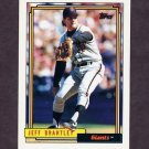 1992 Topps Baseball #491 Jeff Brantley - San Francisco Giants