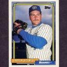 1992 Topps Baseball #454 Darren Holmes - Milwaukee Brewers