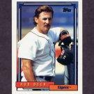 1992 Topps Baseball #441 Rob Deer - Detroit Tigers