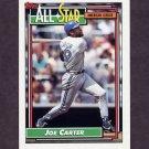 1992 Topps Baseball #402 Joe Carter AS - Toronto Blue Jays