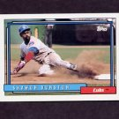 1992 Topps Baseball #370 Shawon Dunston - Chicago Cubs