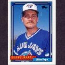 1992 Topps Baseball #365 Duane Ward - Toronto Blue Jays