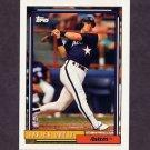 1992 Topps Baseball #362 Javier Ortiz - Houston Astros