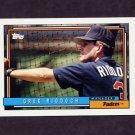 1992 Topps Baseball #351 Greg Riddoch MG - San Diego Padres