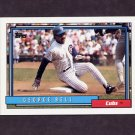 1992 Topps Baseball #320 George Bell - Chicago Cubs