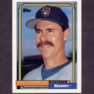 1992 Topps Baseball #291 Phil Garner MG - Milwaukee Brewers
