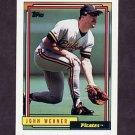 1992 Topps Baseball #282 John Wehner - Pittsburgh Pirates