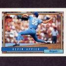 1992 Topps Baseball #281 Kevin Appier - Kansas City Royals