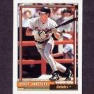 1992 Topps Baseball #268 Brady Anderson - Baltimore Orioles