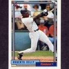1992 Topps Baseball #266 Roberto Kelly - New York Yankees