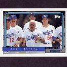 1992 Topps Baseball #261 Tom Lasorda MG - Los Angeles Dodgers