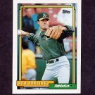 1992 Topps Baseball #259 Ron Darling - Oakland A's