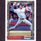 1992 Topps Baseball #257 Jeff Russell - Texas Rangers