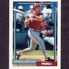 1992 Topps Baseball #244 Darren Daulton - Philadelphia Phillies