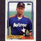 1992 Topps Baseball #241 Gerald Young - Houston Astros