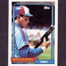 1992 Topps Baseball #240 Andres Galarraga - Montreal Expos