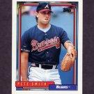 1992 Topps Baseball #226 Pete Smith - Atlanta Braves