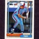 1992 Topps Baseball #224 Bret Barberie - Montreal Expos
