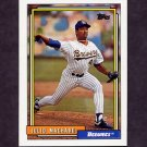 1992 Topps Baseball #208 Julio Machado - Milwaukee Brewers