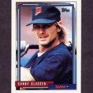 1992 Topps Baseball #177 Dan Gladden - Minnesota Twins