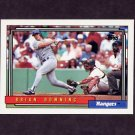 1992 Topps Baseball #173 Brian Downing - Texas Rangers