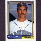 1992 Topps Baseball #171 Bill Plummer MG - Seattle Mariners