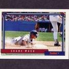 1992 Topps Baseball #164 Shane Mack - Minnesota Twins
