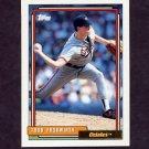 1992 Topps Baseball #158 Todd Frohwirth - Baltimore Orioles