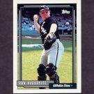 1992 Topps Baseball #153 Ron Karkovice - Chicago White Sox