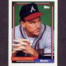 1992 Topps Baseball #152 Charlie Leibrandt - Atlanta Braves